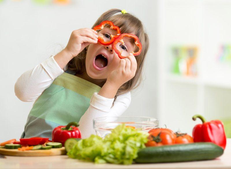 povrce hrana djeca dijete