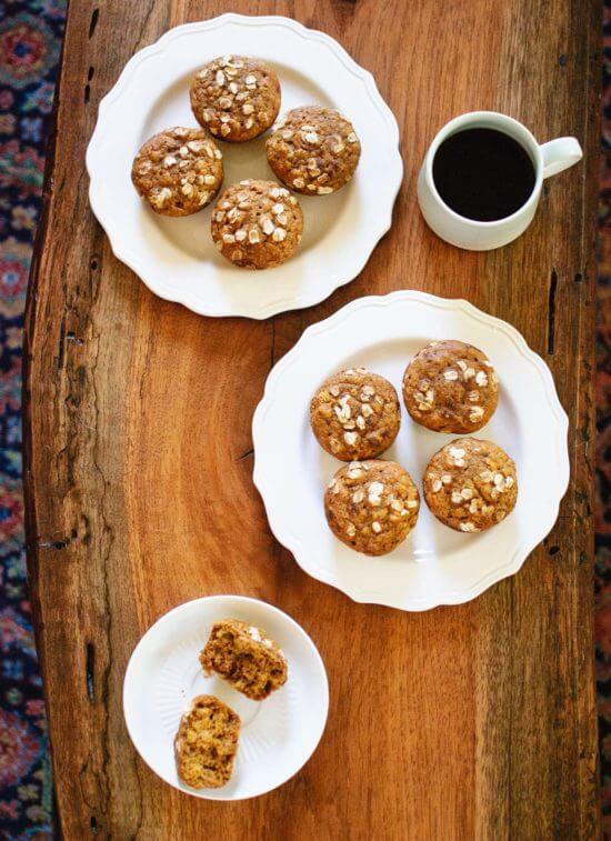 mafini na tanjiru i čaj