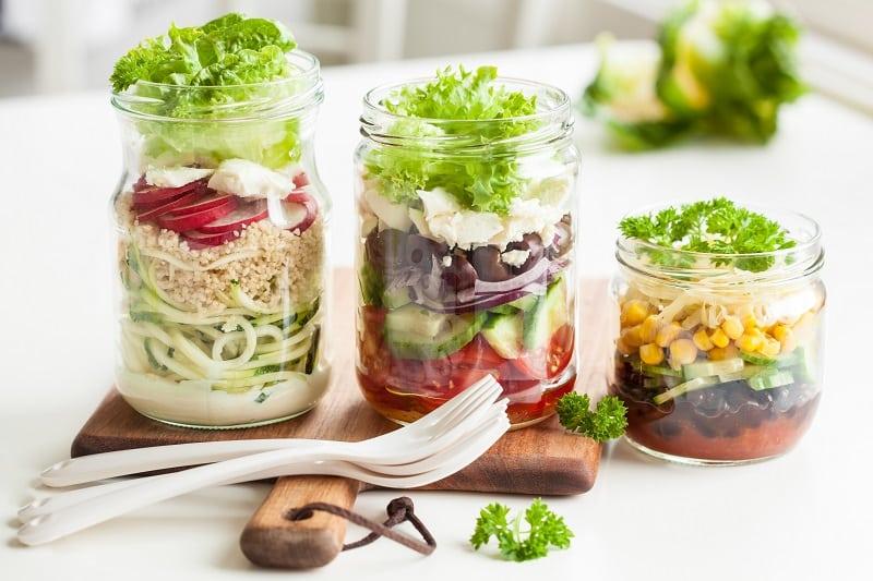 slako-slana salata povrce zdravi obrok jesen