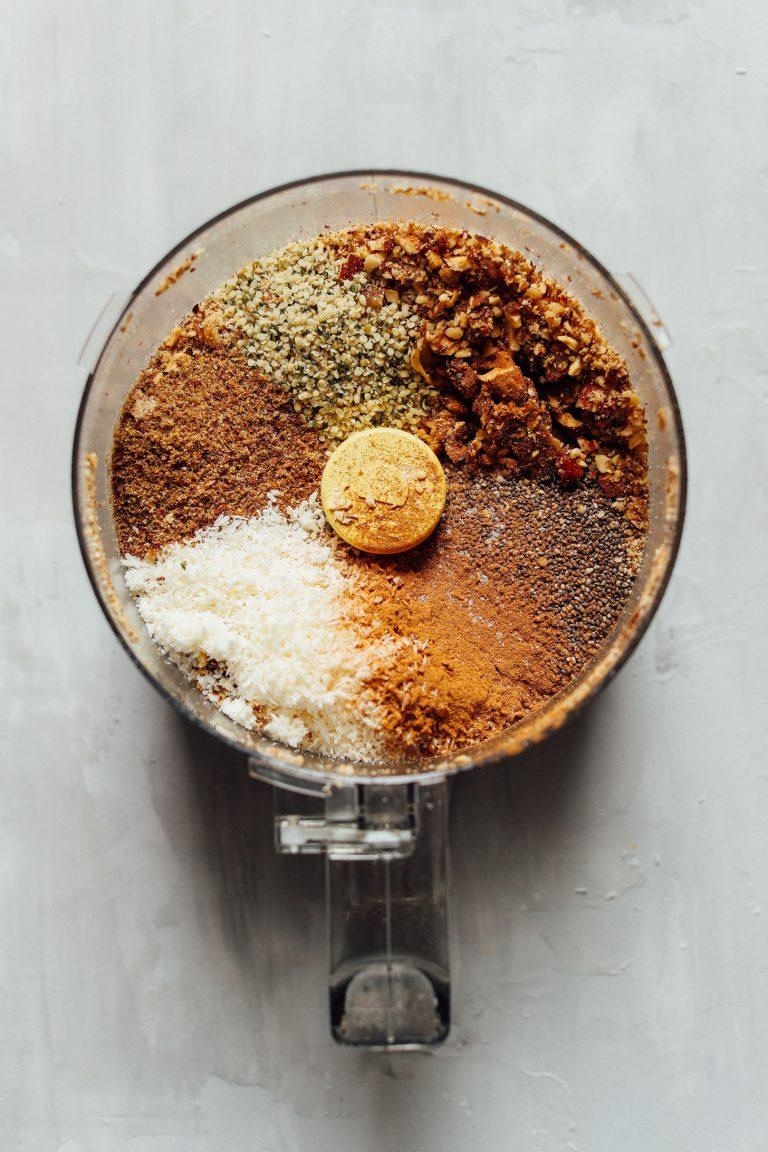 sirova granola sastojci sjeckalica doručak