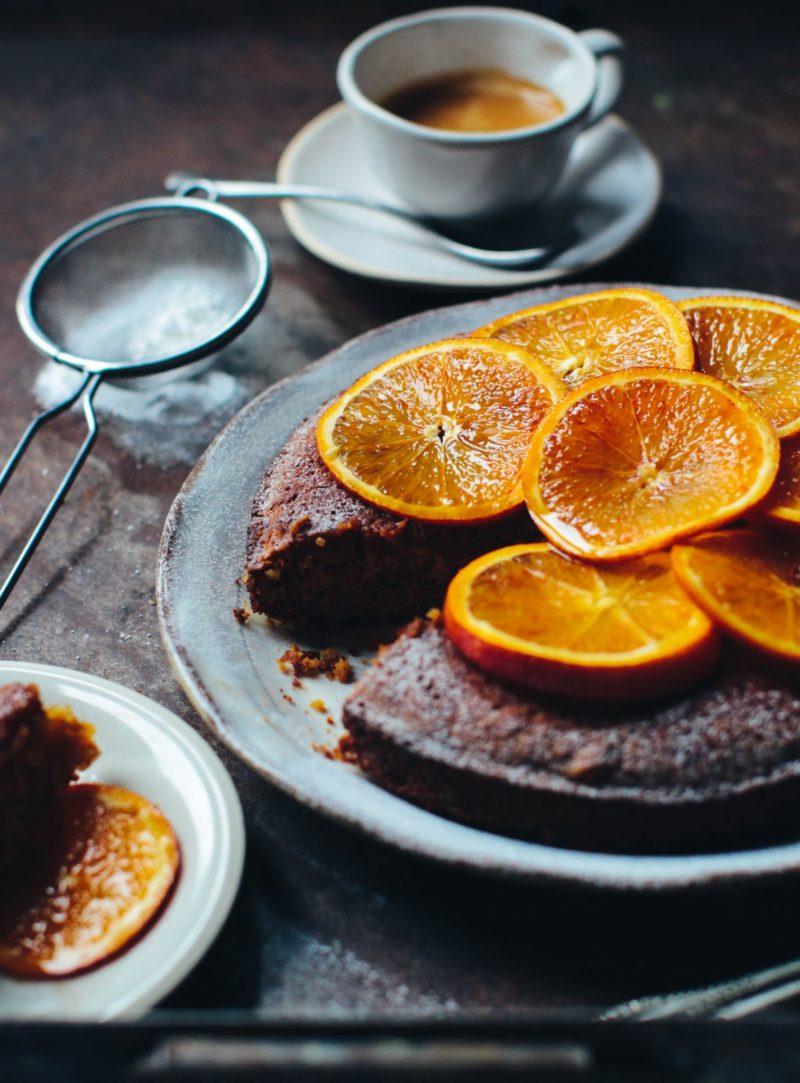 torta crvena narandža badem desert praznici