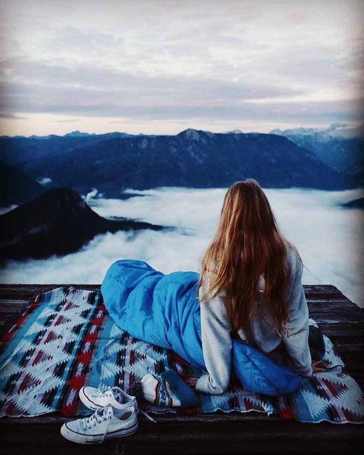 kampovanje kamp spavanje planinari