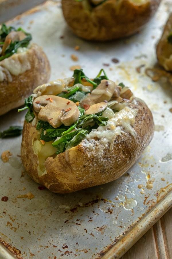 krompir gljive spinat rucak praziluk